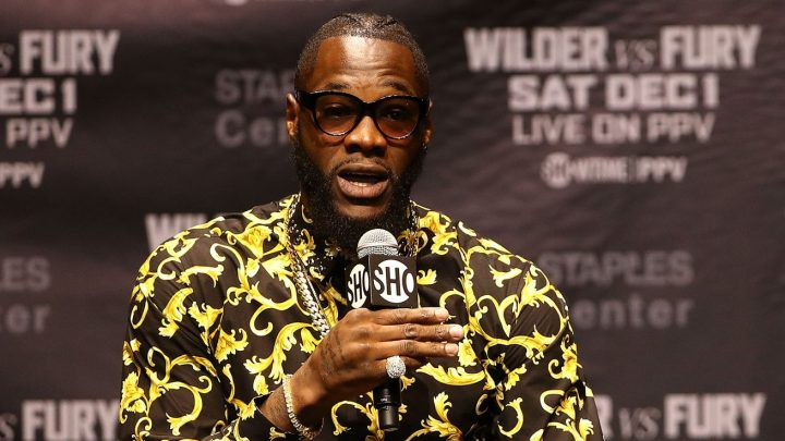 Wilder: I'm going to knock Fury out for sure