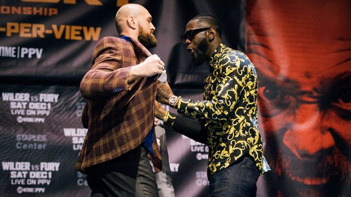 Wilder Predicts Very Brutal KO of Fury: His Entire Body Will Spin!