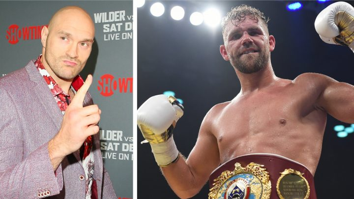 Saunders thanks Fury for help during 'rough patch'