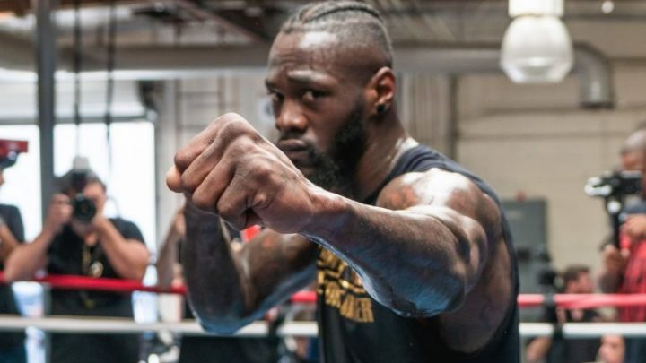 Will there be a switch in Deontay Wilder's corner?
