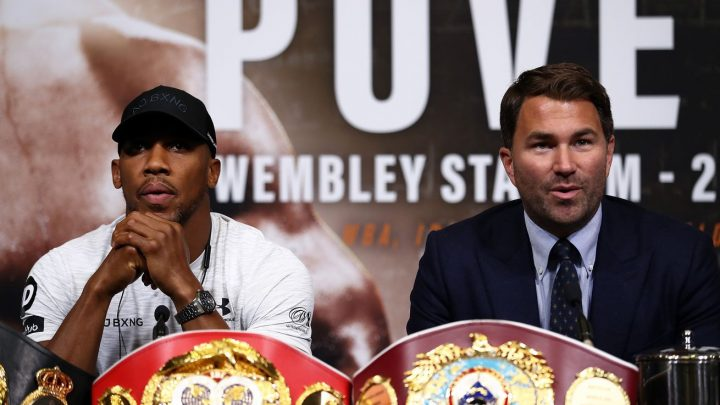 Hearn: Fury can face Joshua in April if he wants it