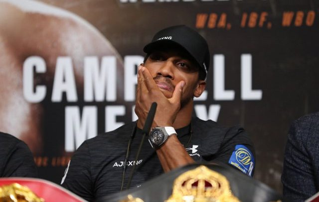 EXCLUSIVE Wilder, Fury or Whyte only have 10 days left to sign for Anthony Joshua fight