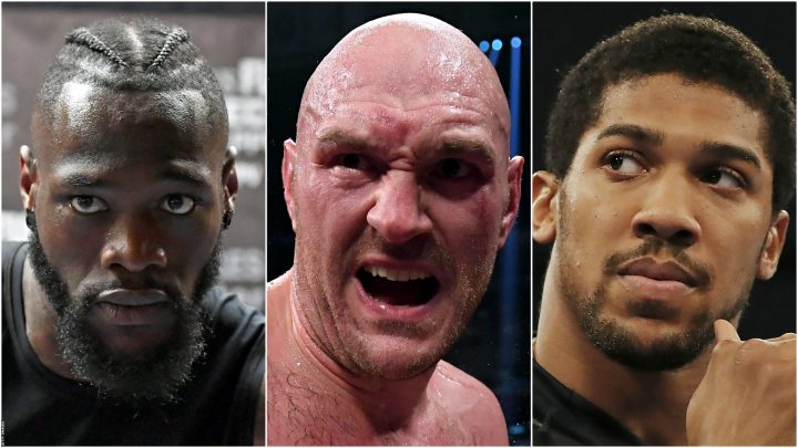 Anthony Joshua, Tyson Fury and Deontay Wilder fights a 'disaster' for heavyweight scene