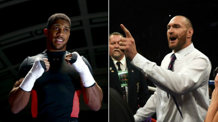 Fury's Coach Could See Anthony Joshua Fight in Near Future