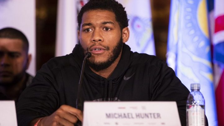 Michael Hunter Vows To Earn His Way To Anthony Joshua Shot