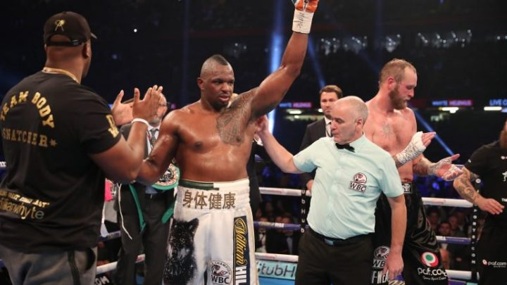 Dillian Whyte: 'Oscar Rivas hits hard, he's undefeated so he will have confidence, he's a very experienced man'