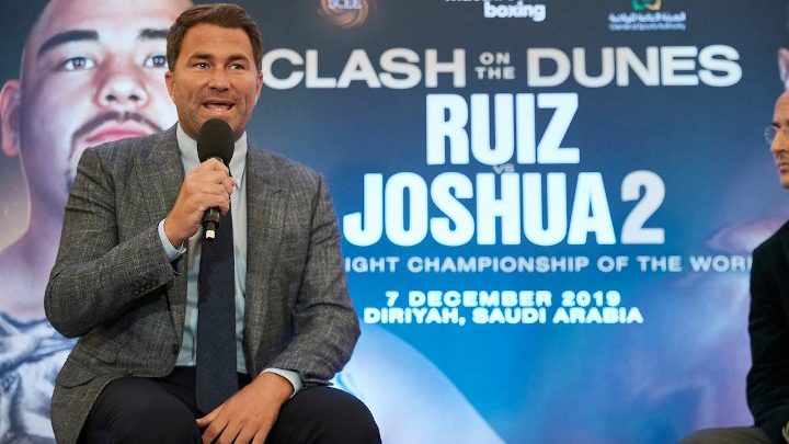 Hearn Warns Ruiz of Legal Battle if Rematch Terms Not Honored