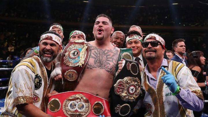 Andy Ruiz's Trainer Backs Concerns Over Going To Saudi Arabia