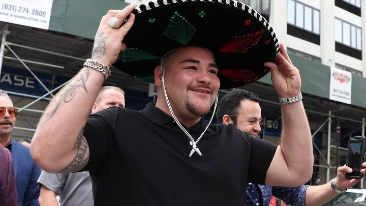 Andy Ruiz Talks Training, Weight Journey Losing 10 Pounds