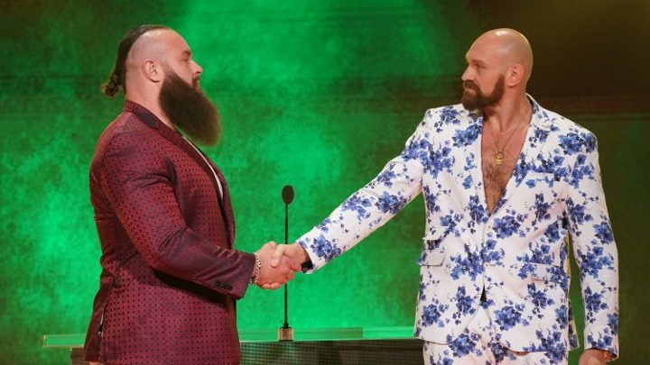 Fury: Not Thinking About Wilder Right Now, Concentrating on WWE