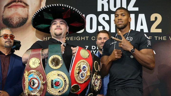 """Andy Ruiz: """"Hell No"""" Anthony Joshua is Not Touching My Belts!"""