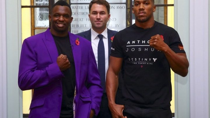 """Whyte Would Like To Fight Joshua """"Two or Three"""" More Times"""
