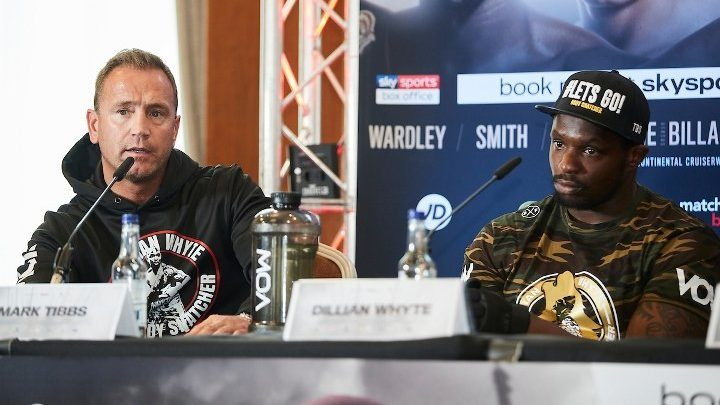 Johnny Nelson Confident Whyte Would Have Benefited With Tibbs in Corner