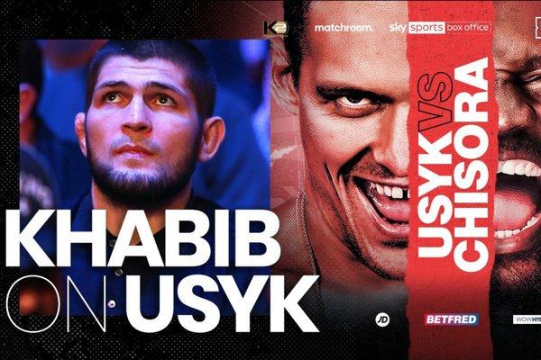 Retired Khabib Nurmagomedov calls for Tyson Fury vs Oleksandr Usyk