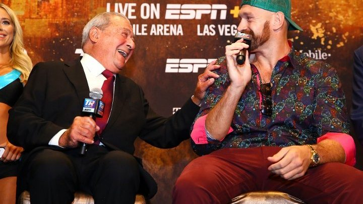 Arum: No Legal Recourse For Wilder, Team If Third Fury Fight Doesn't Happen