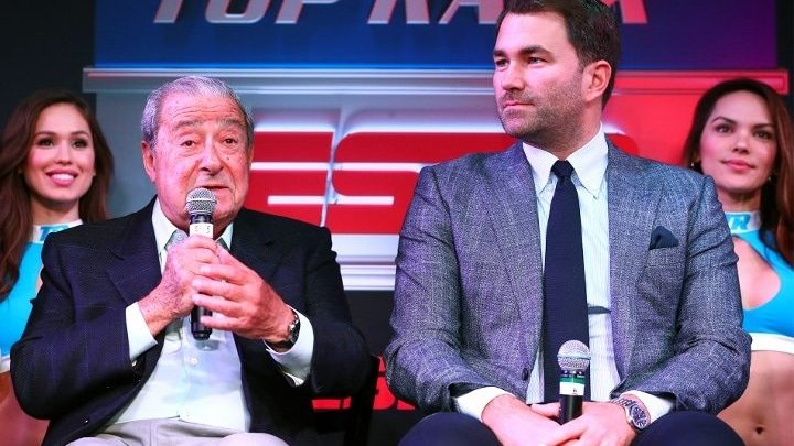 Hearn: Arum's Not Happy About Lopez-Kambosos Bid, But We're In Good Place With Joshua-Fury