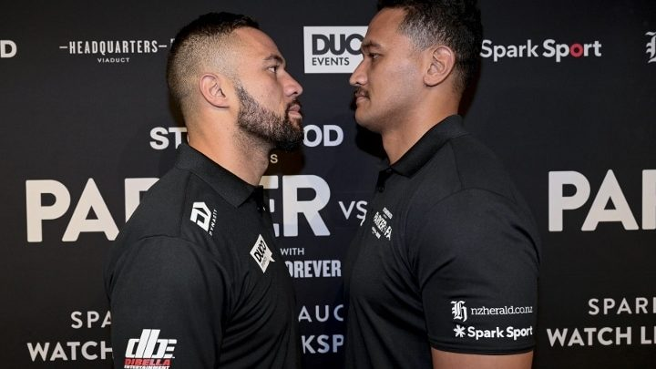 Joseph Parker-Junior Fa Weigh-In Report From Auckland, New Zealand