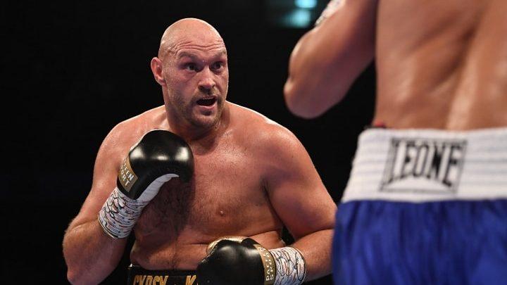 Frank Bruno Backs Tyson Fury To Beat Anthony Joshua