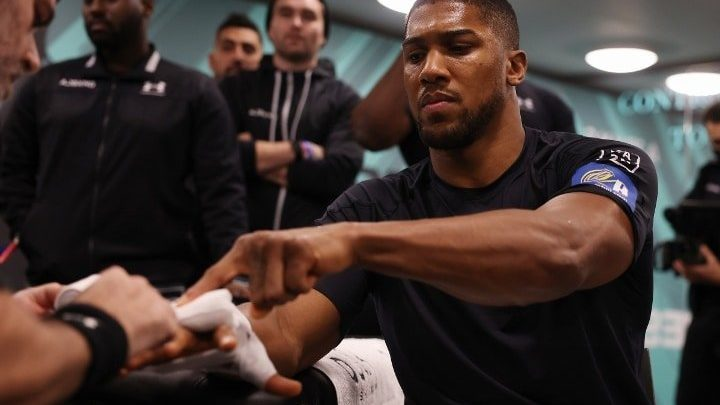 Joshua: I Know I'm The Man at Heavyweight and I'll Be For a Long Time!