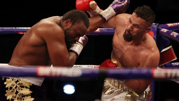 Parker Suffered Elbow Injury Halfway Through Chisora Fight, Says Manager