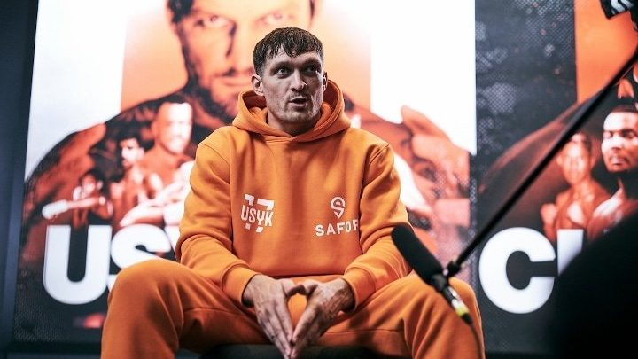 """Team Usyk """"Looking Forward To Signing Papers"""" For Showdown With Anthony Joshua"""