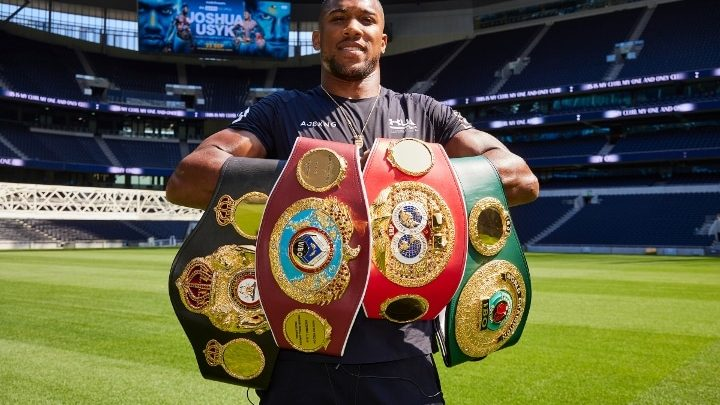 Anthony Joshua Confident: Usyk is a Good Fighter – But I'm Better!