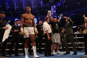 Anthony Joshua doing new trainer search, meets with vet Ronnie Shields