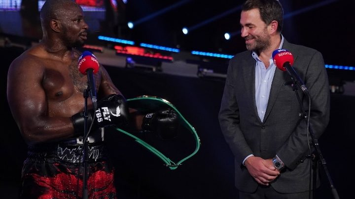 Dillian Whyte Likely To Pursue Tyson Fury Title Fight Next, Says Hearn